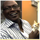 Randy Jackson Loves Himself Some Cat