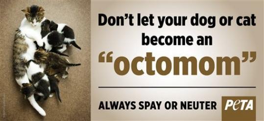Octomom and PETA strike a Deal
