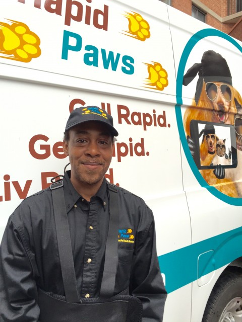 Daniel Williams starts pet limo service