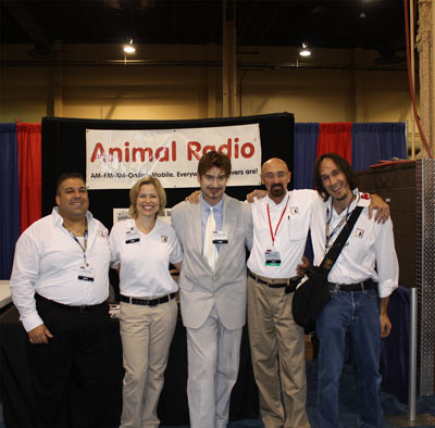 Animal Radio® Dream Team at SuperZoo