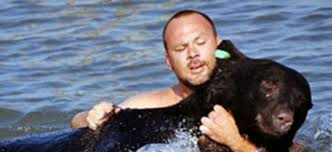 Adam Warwick Saves Drowning Bear