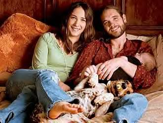Bo Bice, Carolyn and Gracie