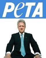 Clinton and PETA