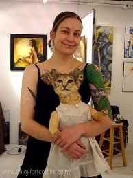 Taxidermy Cat
