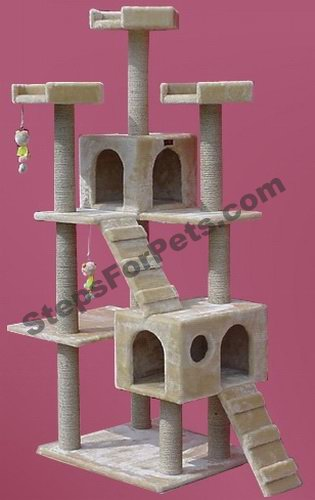 Do it yourself cat tree cat condo yahoo answers for Do it yourself cat condo