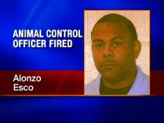 Animal Control Officer Alonzo Esco