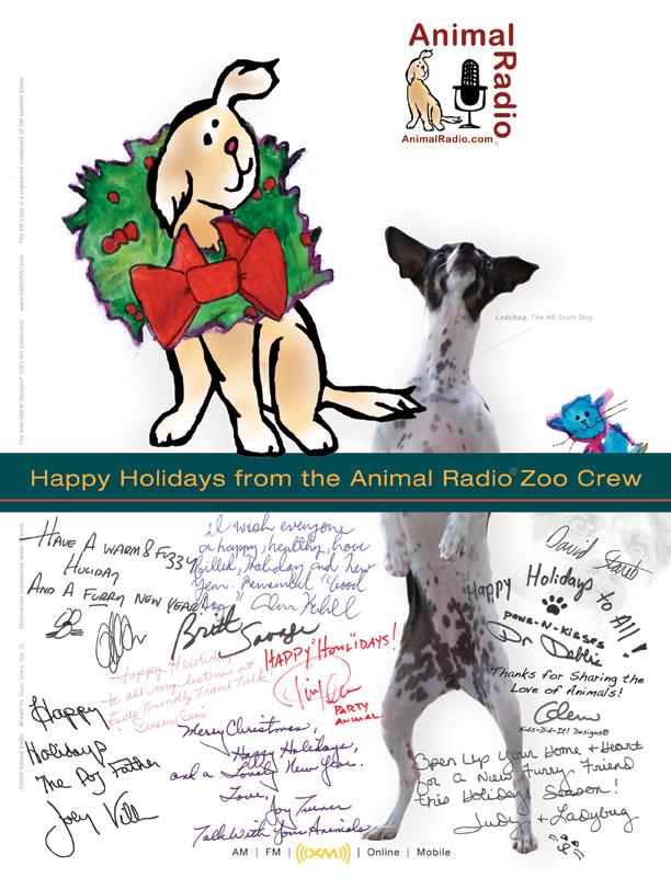 Happy Holidays from Animal Radio�