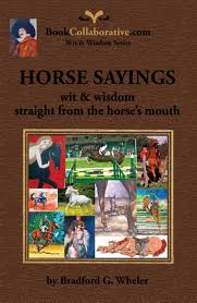 Horse Sayings book cover