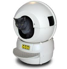 Cat using the Litter-Robot