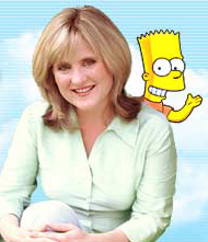 Nancy Cartwright - the voice of Bart Simpson