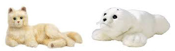 Robotic Cat and Seal