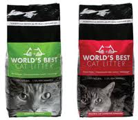 Bags of World's Best Cat Litter