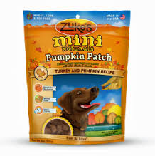 Zukes Mini Naturals Pumpkin Patch Dog Treats