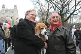 David Frei and N.Y. Mayor