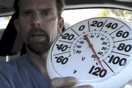 Vet Locks Himself in Hot Car
