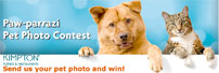 Kimptom Hotels Paw-Parazzi Pet Photo Contest Banner