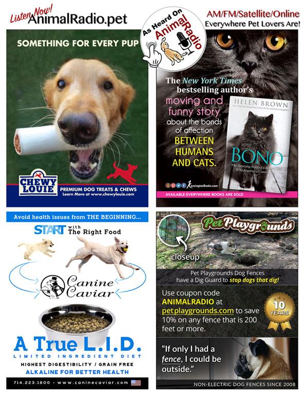 See the stuff you heard about on Animal Radio