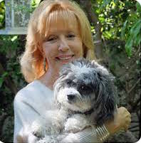 Angela Laws with Dog