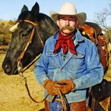 Baxter Black with horse