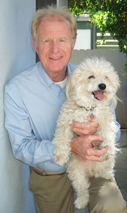 Ed Begley Jr. with Dog