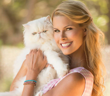 Beth Stern with Cat