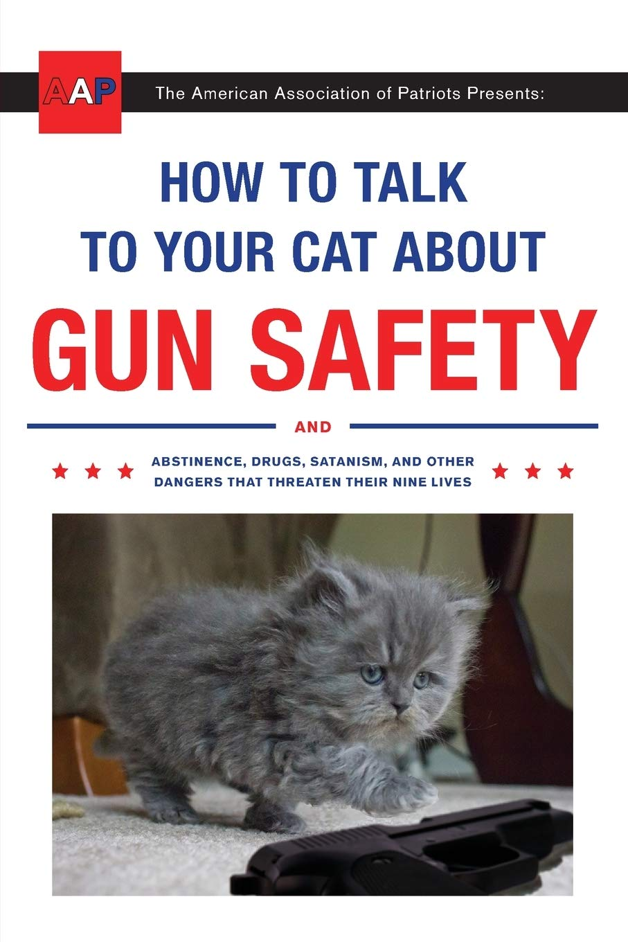 How To Talk To Your Cat About Gun Safety Book Cover