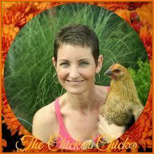 Kathy Shea Mormino with Chicken