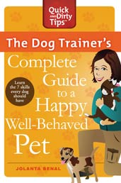 The Dog Trainer's Complete Guide To A Happy, Well-Behaved Pet book cover