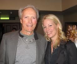 Clint Eastwood with hi daughter Alison.670