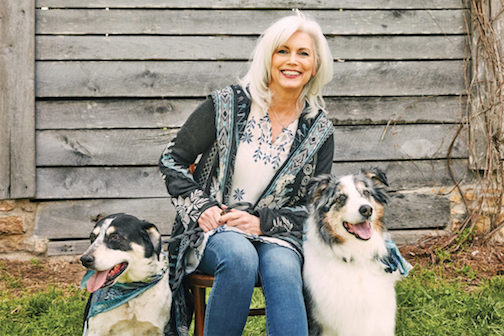 Emmylou Harris with Dogs