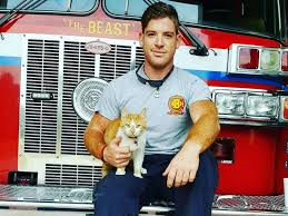 Flame with Firefighter