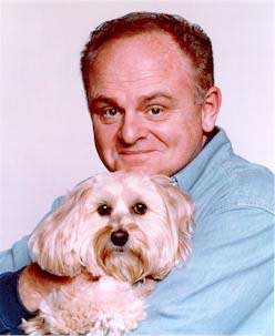 Gary Burghoff with Dog