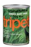 Can of green tripe