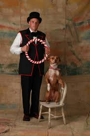 Jeff with Circus Dog