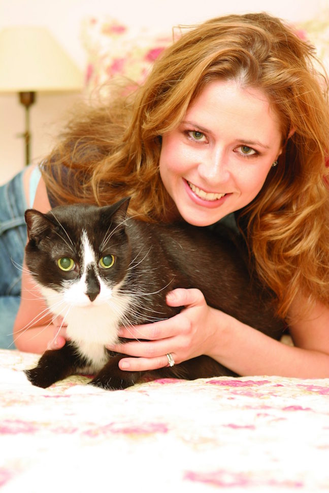 Jenna Fischer and Cat