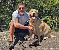 Jeremy Cohen with Dog