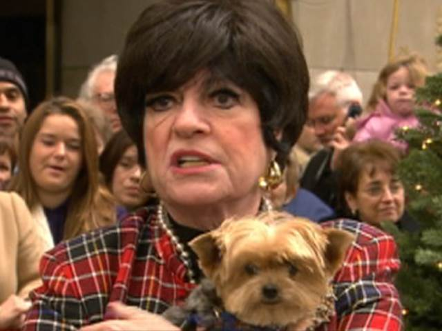 JoAnne Worley with Dog