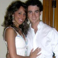 Kevin Jonas and wife Danielle.666