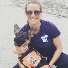 Karissa Hadden with Puppy