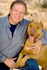 Leo Grillo with dog