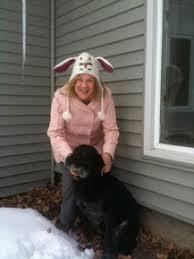 Nancy Fvrstinger with Dog