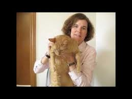 Paula Poundstone with her cat.661