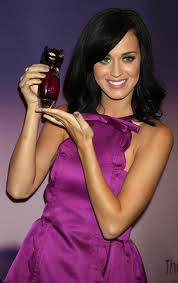 Katy Perry and her Purr Fragrance