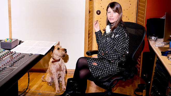 Rachel Fuller with Dog