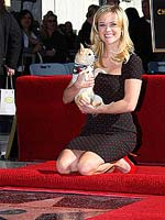 Reese Witherspoon with Moonie