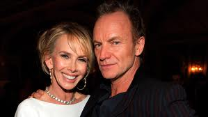 Sting and wife Trudie.671