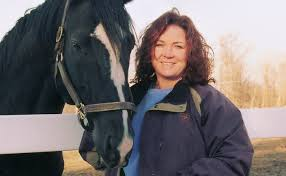 Tracy Vroom with Horse