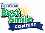 TropiClean Best Smile Contest Logo