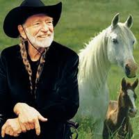 Willie Nelson with horse.657