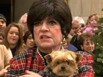 Jo Anne Worley and Dog